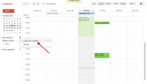 how do you make a calendar in docs create a shared calendar for your organisation g