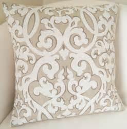 decorative throw pillow cover neutral pillow cushion accent