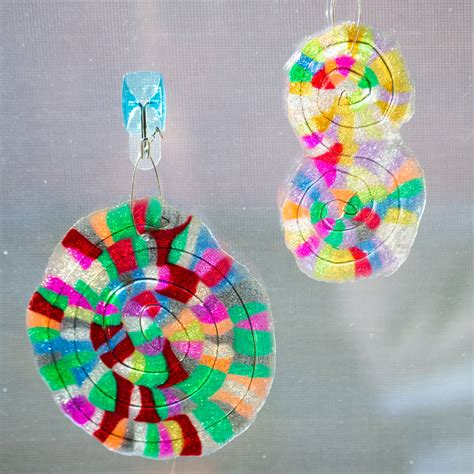 melted bead melted bead suncatcher custom shapes