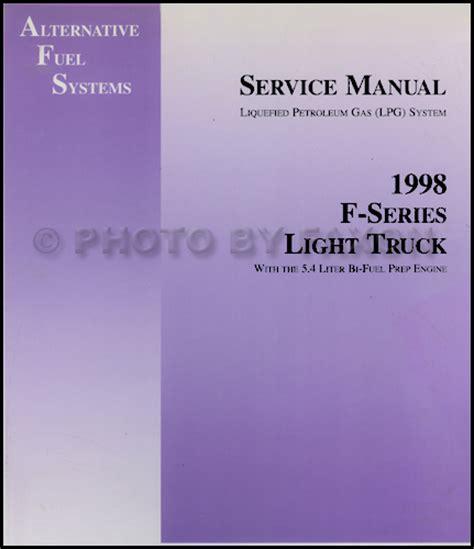 service and repair manuals 1998 ford f150 transmission control 1998 ford f150 f250 5 4l engine bi fuel lpg repair shop manual original