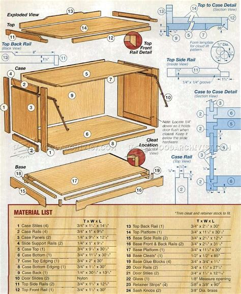 bookshelf woodworking plans barrister bookcase plans woodarchivist