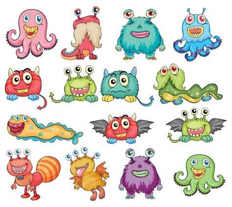 imagenes anime vectorizadas monstruo fotos y vectores gratis