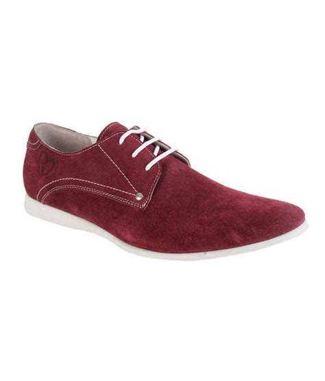 delize swanky burgundy casual shoes price in india buy