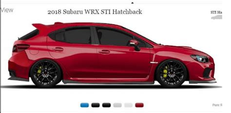 subaru wrx hatch 2018 here s the subaru wrx sti hatch everyone wants but won t