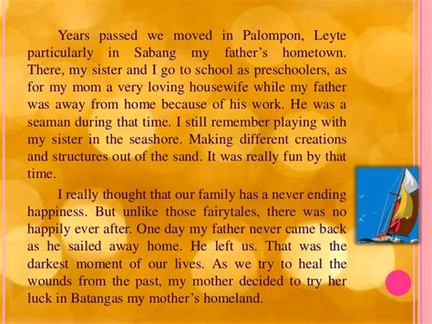 Exle Of Biography About My Mother | my autobiography