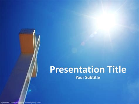 Christian Powerpoint Templates Free Christian Powerpoint Christian Ppt Template