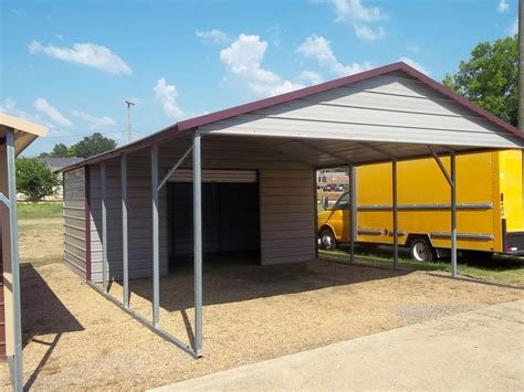 carport metal single slope carports studio design gallery best