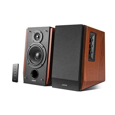 wireless bookshelf speakers for tv edifier r1700bt wireless bluetooth active bookshelf studio
