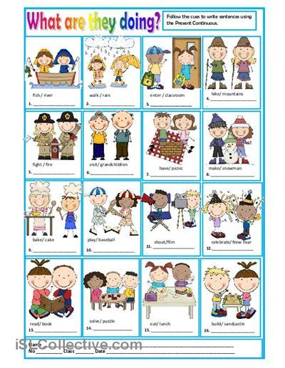 doing work you today books what are they doing worksheet free esl printable