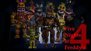 Five night at freddy s 4 unblocked