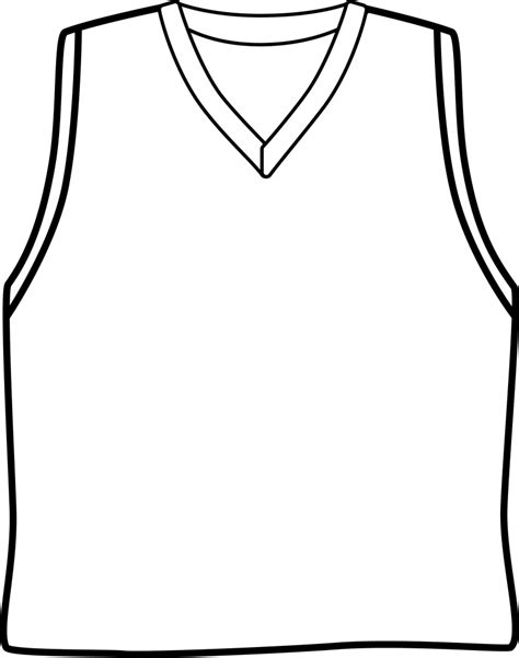 blank basketball template blank basketball jersey template sketch coloring page