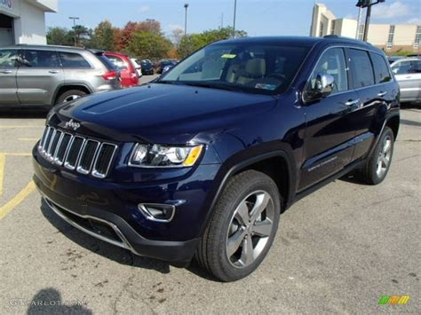 2014 blue jeep grand 2014 true blue pearl jeep grand limited 4x4