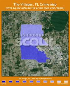 the villages florida map of neighborhoods the villages crime rates and statistics neighborhoodscout