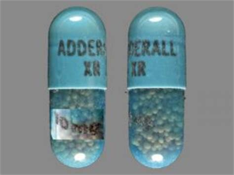 adderall xr 10 mg pill images blue capsule shape
