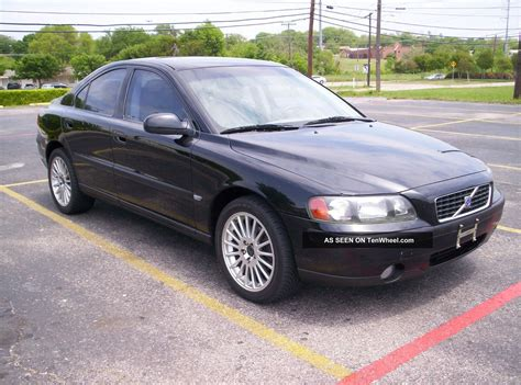 2002 volvo s60 2 4t turbo car pearl black