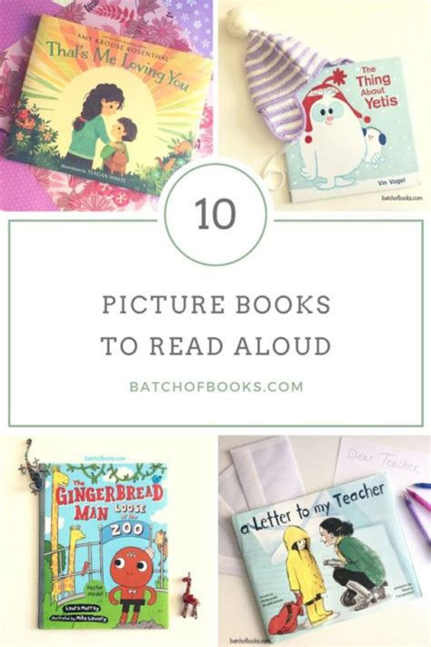 best picture books to read aloud 10 children s books to read aloud batch of books