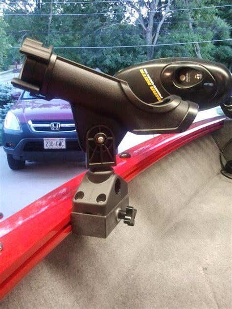 fishing rod holders for tracker boats tracker boat versatrack rod holders page 2 ohio