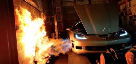 real  rotary swapped  corvette  video gm authority