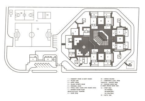 Floor Plans Blueprints sos children s village site plan archnet