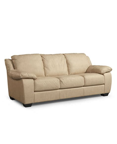 Macys Leather Furniture by Blair Leather Sofa Furniture Macy S