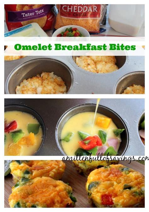 easy to make breakfast recipes omelet breakfast bites