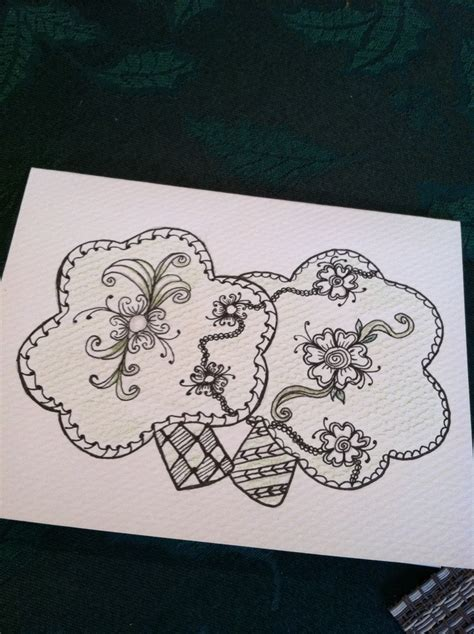 S Day Zentangle St S Zentangle Card St S Day