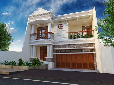 desain rumah klasik tak depan rumah bergaya klasik modern