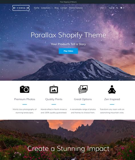 shopify themes california 7 of the best shopify themes for art stores down