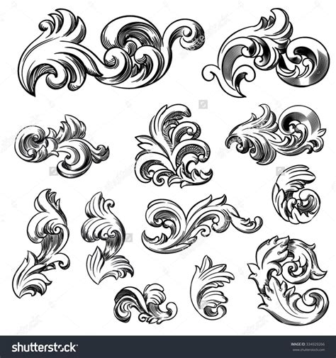 tattoo scrolls designs scroll filigree design reference filigree