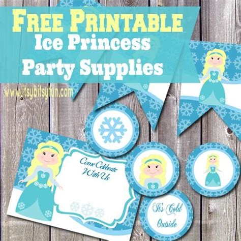 printable party decorations frozen 17 best images about free princess party printables on