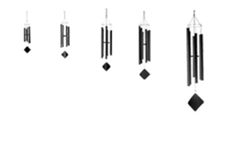 stradivarius of wind chimes of the spheres pentatonic wind chime model ps wind noisemakers