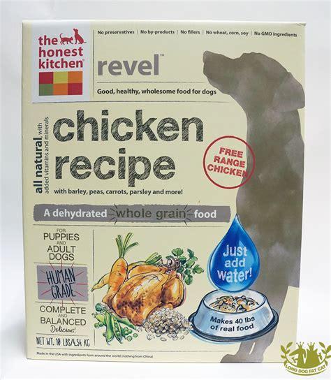 Honest Kitchen Dehydrated Food by Honest Kitchen Freeze Dried Revel Food Chicken
