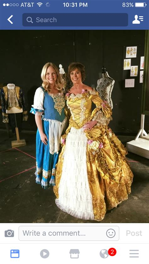 paige o hara belle voice of belle paige o hara in a custom made belle gown