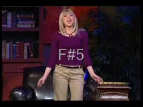 stephanie ferrett  high notes (note by note) youtube