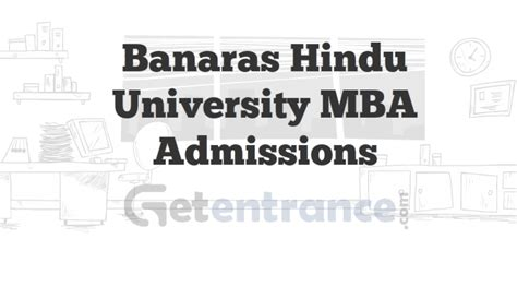 Mba From Bhu 2016 by Banaras Hindu Mba Admissions 2015 2016