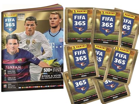 Panini Cards Sticker Album by Panini Fifa 365 2016 Official Sticker Album Cardzreview
