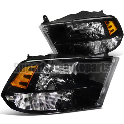 2009 2012 dodge ram 1500 2500 3500 depo headlights