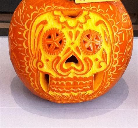 dia de los muertos pumpkin template how to carve a pumpkin 14 inspired o
