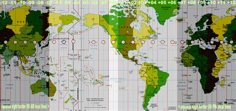pacific time zone map world time zone map memes
