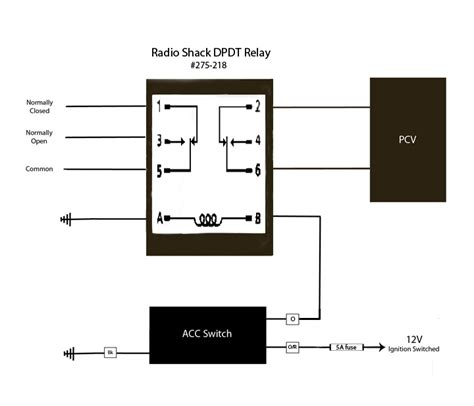 6 pin relay wiring diagram efcaviation