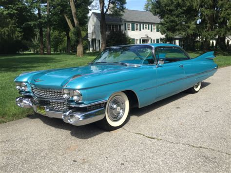 cadillac pontiac 1959 cadillac coupe oldsmobile pontiac chevy