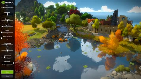 the witness the witness gets nvidia ansel support features detailed