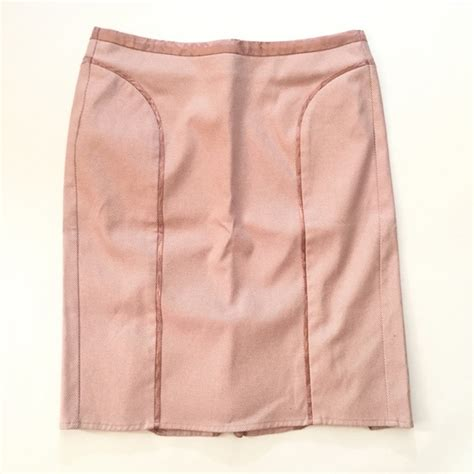 64 dresses skirts blush colored pencil skirt with