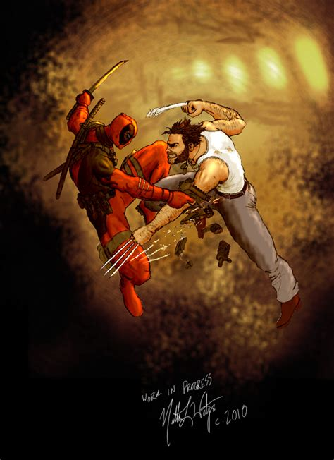imagenes de wolverine vs deadpool wolverine vs deadpool by sebadorn on deviantart