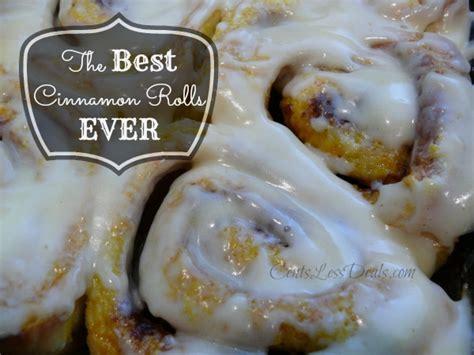 the best cinnamon rolls recipe only 3 ingredients