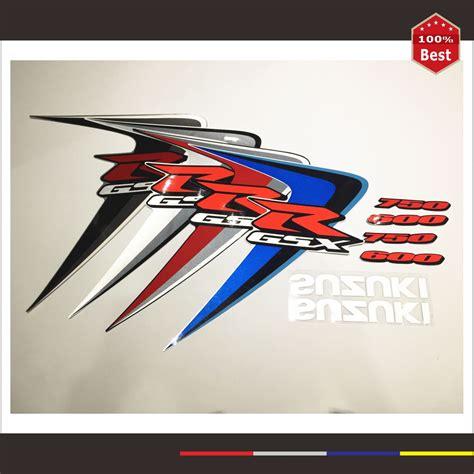 Sticker Moto Suzuki Gsx R by For Suzuki Gsxr Gsx R Gsx R 600 750 K6 Moto Stickers