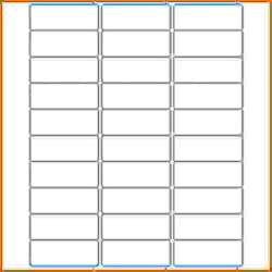 4 Labels Per Sheet Template by 4 Template For Address Labels 30 Per Sheet Lease Template
