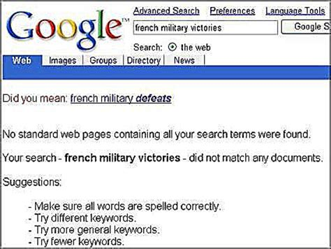 Google Did You Mean Meme - french military victories victorys what happened to it