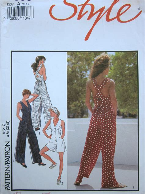 jumpsuit sewing pattern etsy your place to buy and sell all things handmade