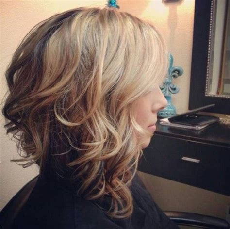long stacked celebrity hsirstyles 21 gorgeous stacked bob hairstyles medium curly bob